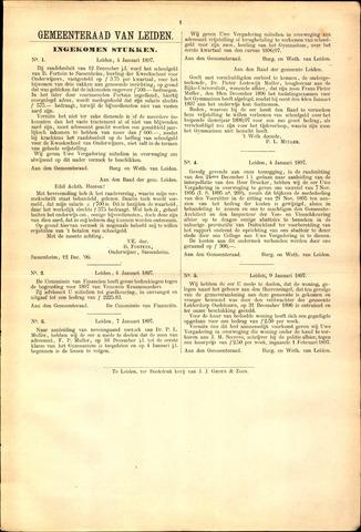 Handelingen van de Raad 1897-01-04