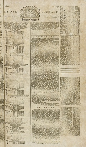 Leydse Courant 1819-12-31