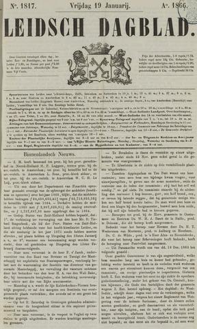 Leidsch Dagblad 1866-01-19
