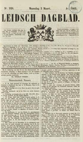 Leidsch Dagblad 1863-03-02