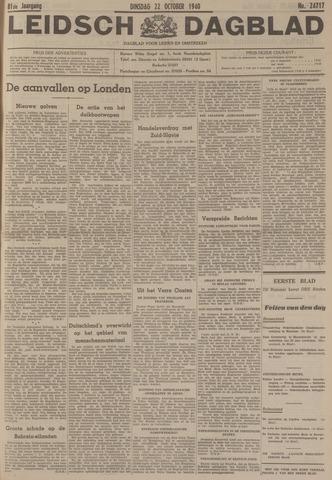 Leidsch Dagblad 1940-10-22