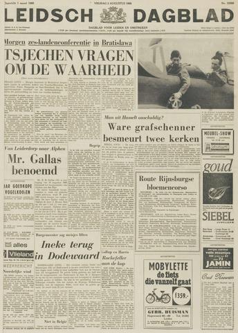 Leidsch Dagblad 1968-08-02