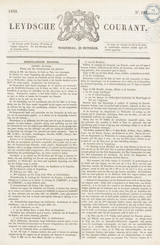 Leydse Courant 1852-10-13