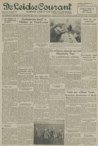 Leidse Courant 1949-02-22