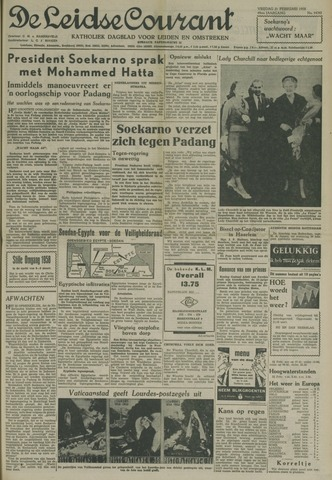 Leidse Courant 1958-02-21