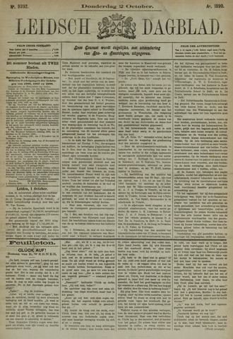 Leidsch Dagblad 1890-10-02