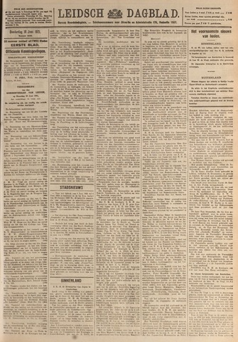 Leidsch Dagblad 1921-06-16