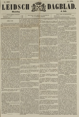 Leidsch Dagblad 1870-07-04