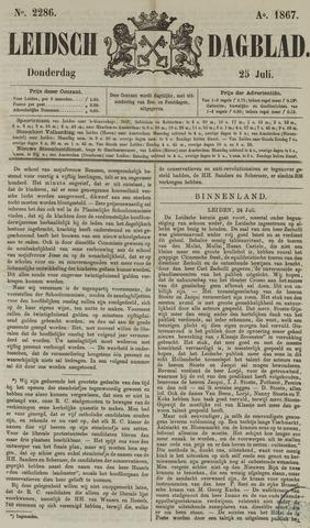Leidsch Dagblad 1867-07-25