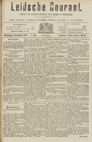 Leydse Courant 1887-11-02
