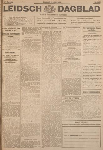 Leidsch Dagblad 1930-07-22