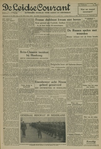 Leidse Courant 1952-09-25