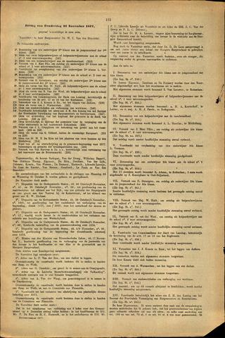Handelingen van de Raad 1877-11-22