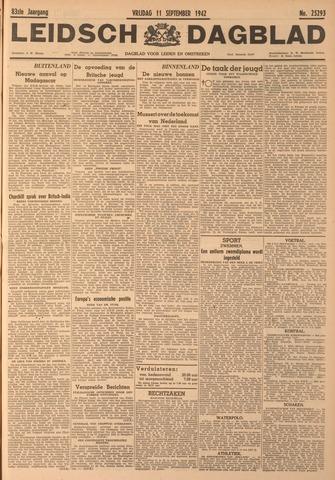 Leidsch Dagblad 1942-09-11