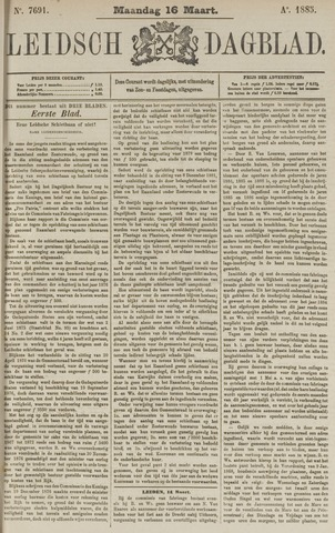 Leidsch Dagblad 1885-03-16