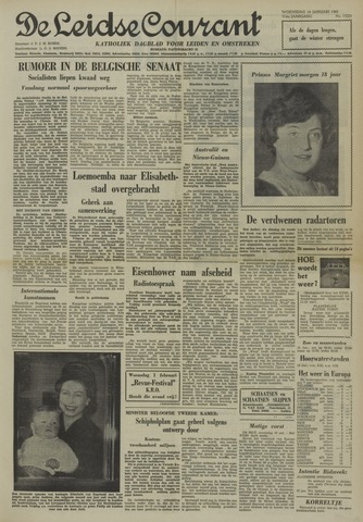 Leidse Courant 1961-01-18