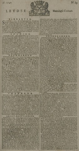 Leydse Courant 1740-07-25