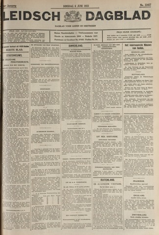 Leidsch Dagblad 1933-06-06