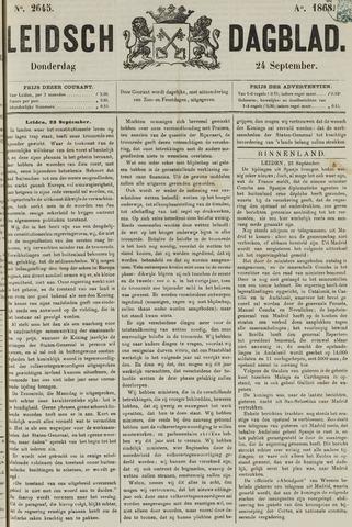 Leidsch Dagblad 1868-09-24