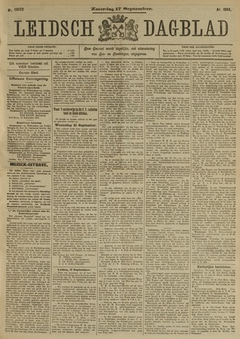 Leidsch Dagblad 1904-09-17