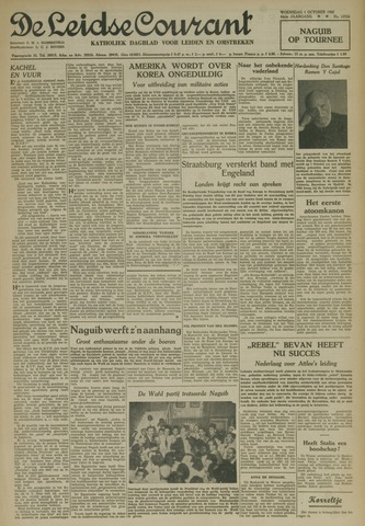 Leidse Courant 1952-10-01