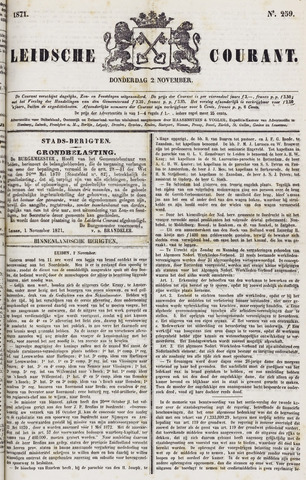 Leydse Courant 1871-11-02