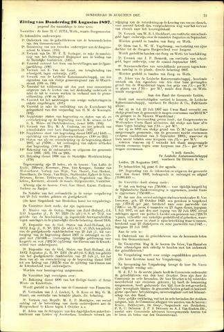 Handelingen van de Raad 1897-08-26
