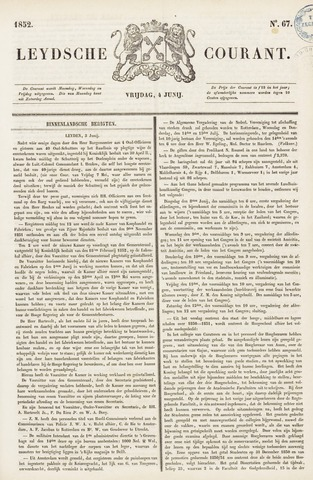 Leydse Courant 1852-06-04