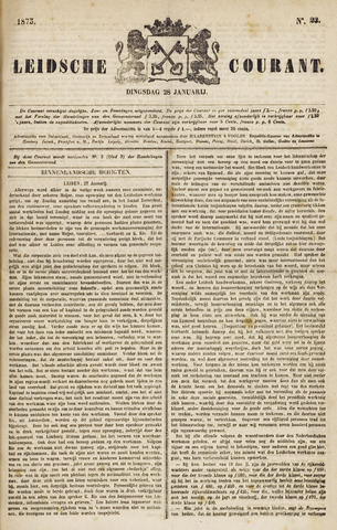 Leydse Courant 1873-01-28