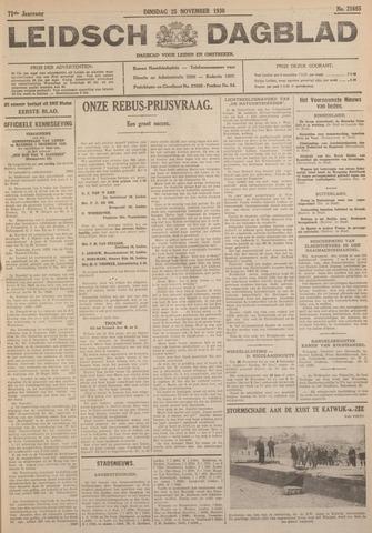 Leidsch Dagblad 1930-11-25