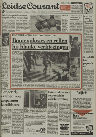 Leidse Courant 1987-05-05