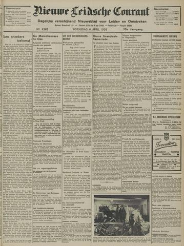 Nieuwe Leidsche Courant 1938-04-06