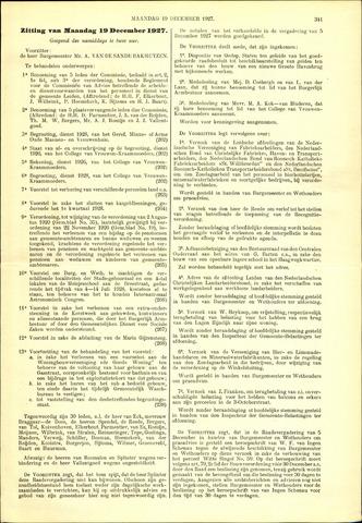Handelingen van de Raad 1927-12-19