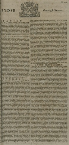 Leydse Courant 1722-09-14
