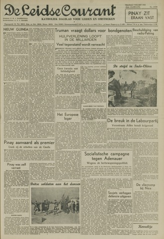 Leidse Courant 1952-03-07