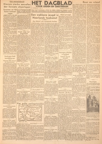 Dagblad voor Leiden en Omstreken 1944-01-18