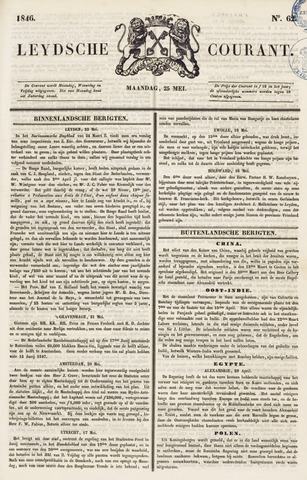 Leydse Courant 1846-05-25