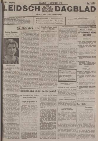 Leidsch Dagblad 1938-11-14