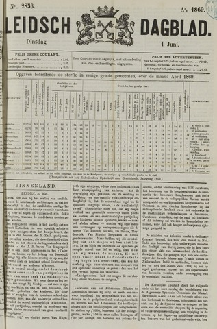 Leidsch Dagblad 1869-06-01