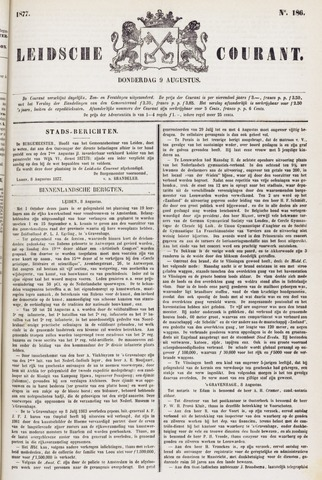 Leydse Courant 1877-08-09