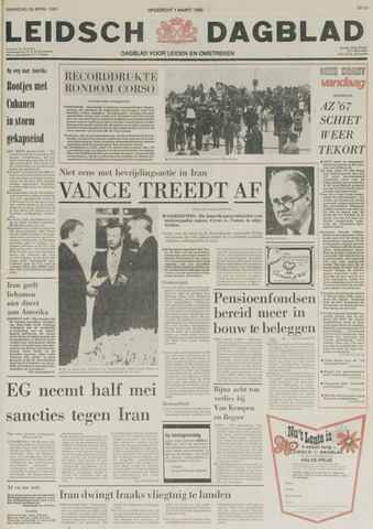 Leidsch Dagblad 1980-04-28