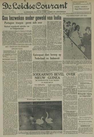 Leidse Courant 1961-12-19