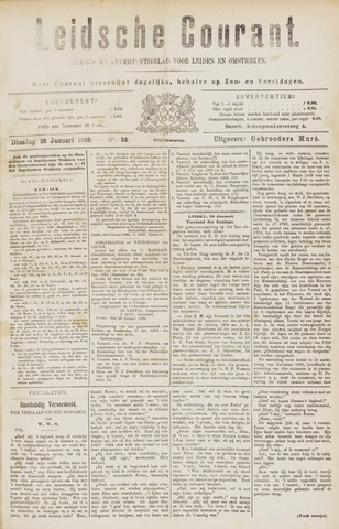 Leydse Courant 1889-01-29
