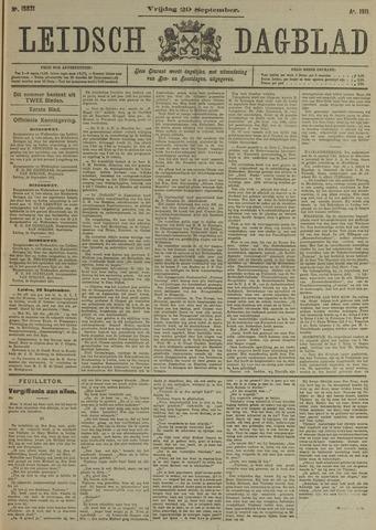 Leidsch Dagblad 1911-09-29