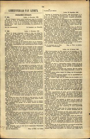 Handelingen van de Raad 1886-11-16