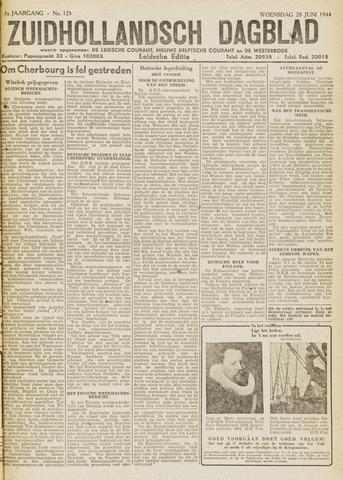 Zuidhollandsch Dagblad 1944-06-28