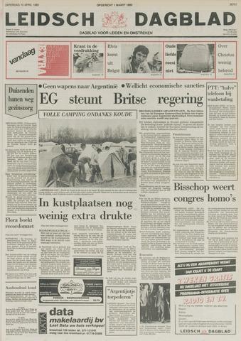 Leidsch Dagblad 1982-04-10