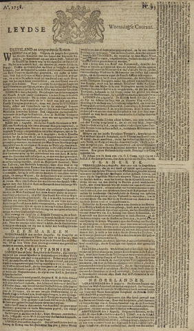 Leydse Courant 1758-08-09