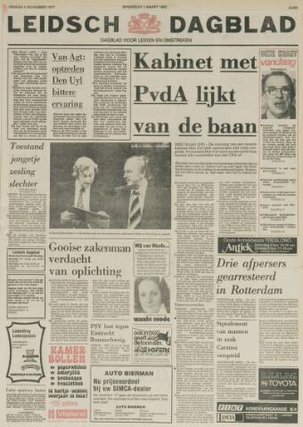 Leidsch Dagblad 1977-11-04