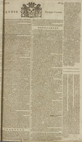 Leydse Courant 1772-05-29